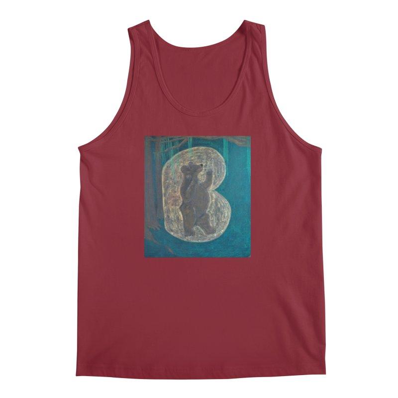 B is for Bear Men's Tank by brusling's Artist Shop