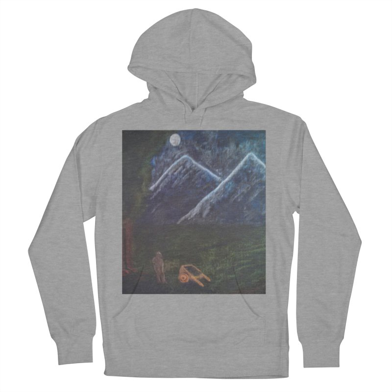 M is for Mountain Men's Pullover Hoody by brusling's Artist Shop