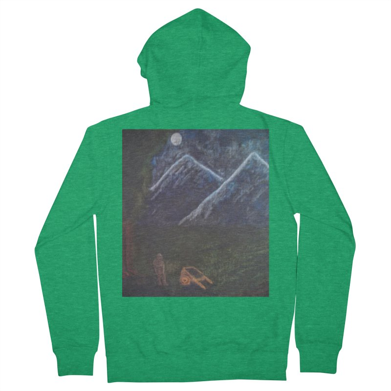M is for Mountain Women's Zip-Up Hoody by brusling's Artist Shop