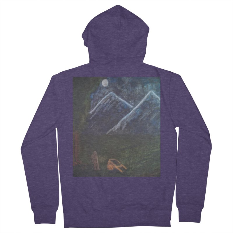 M is for Mountain Men's Zip-Up Hoody by brusling's Artist Shop