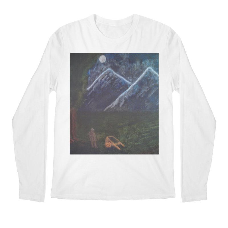 M is for Mountain Men's Longsleeve T-Shirt by brusling's Artist Shop