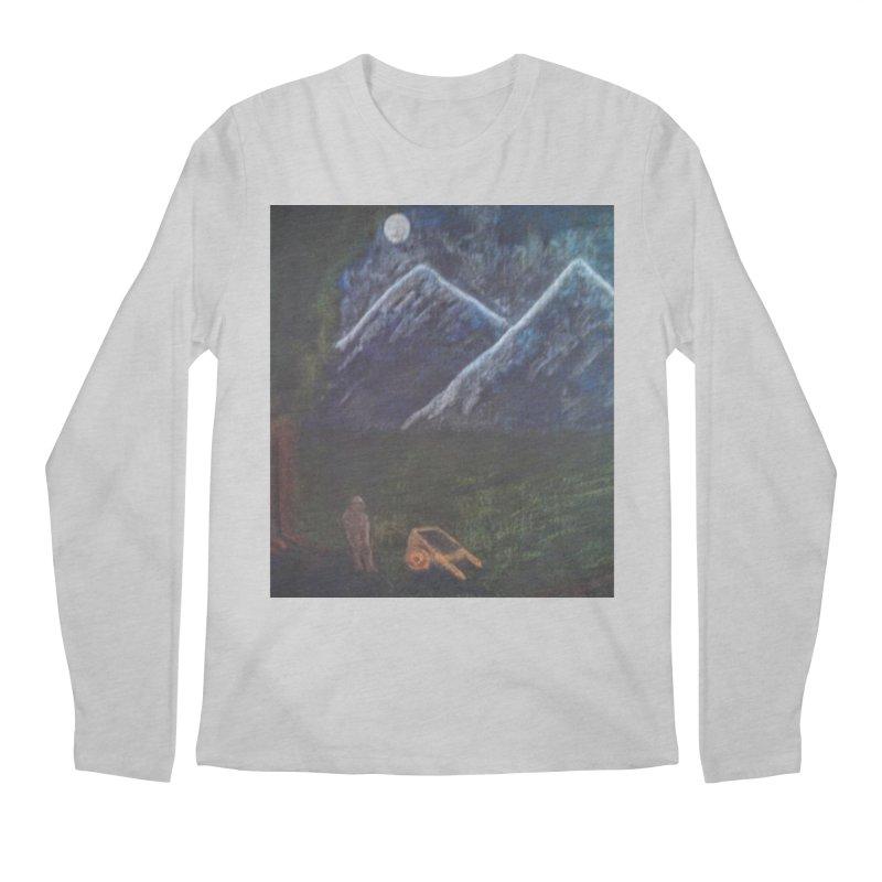M is for Mountain Men's Longsleeve T-Shirt by brusling's Artist Shop