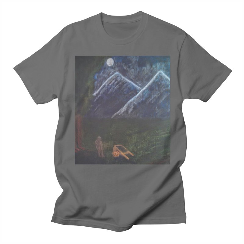 M is for Mountain Men's T-Shirt by brusling's Artist Shop