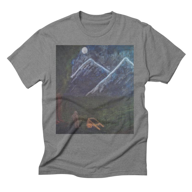 M is for Mountain Men's Triblend T-shirt by brusling's Artist Shop