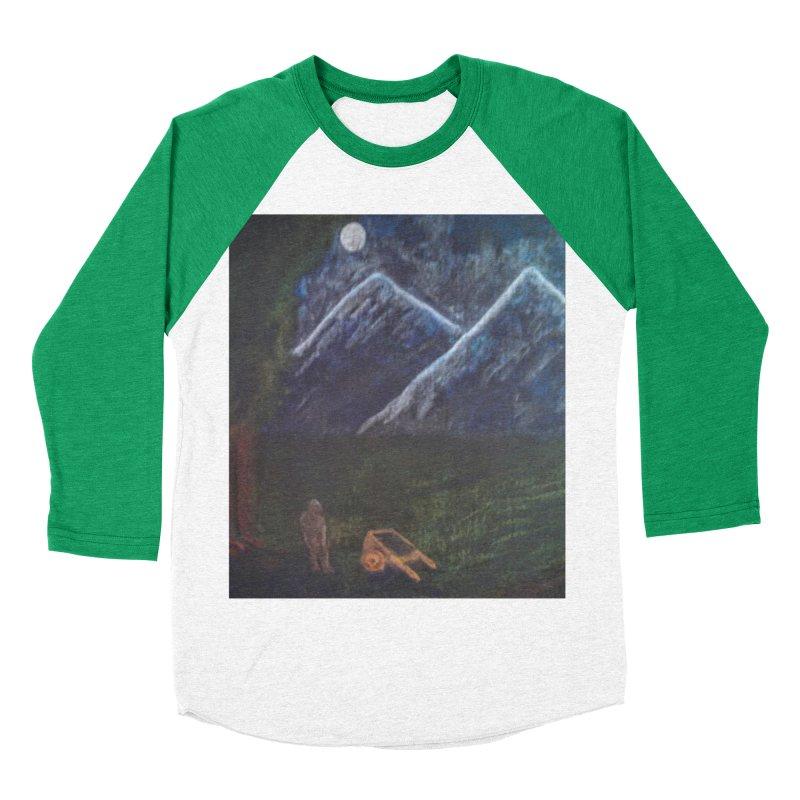 M is for Mountain Women's Baseball Triblend T-Shirt by brusling's Artist Shop