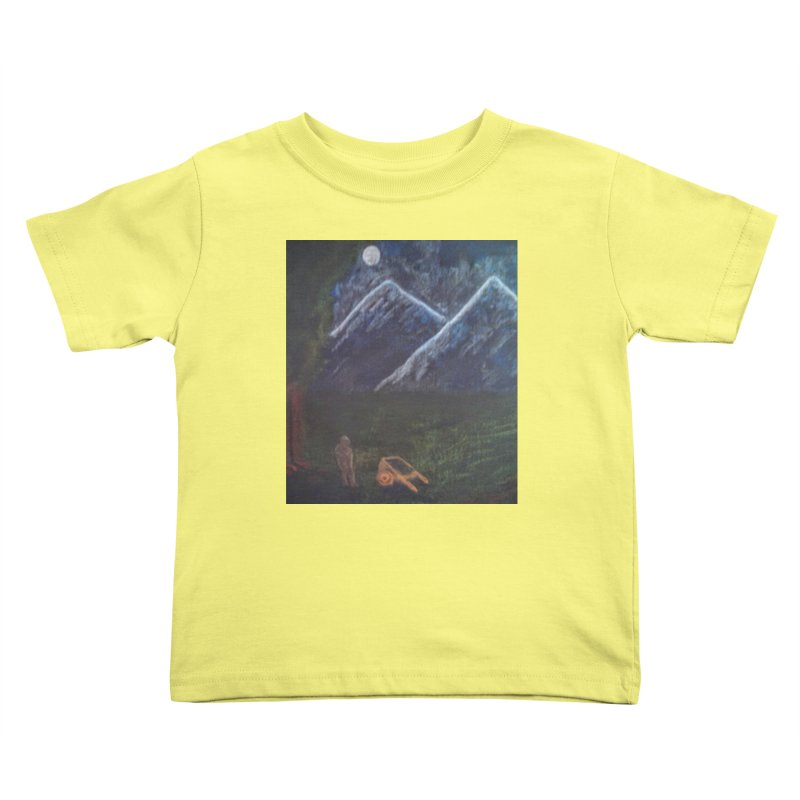 M is for Mountain Kids Toddler T-Shirt by brusling's Artist Shop