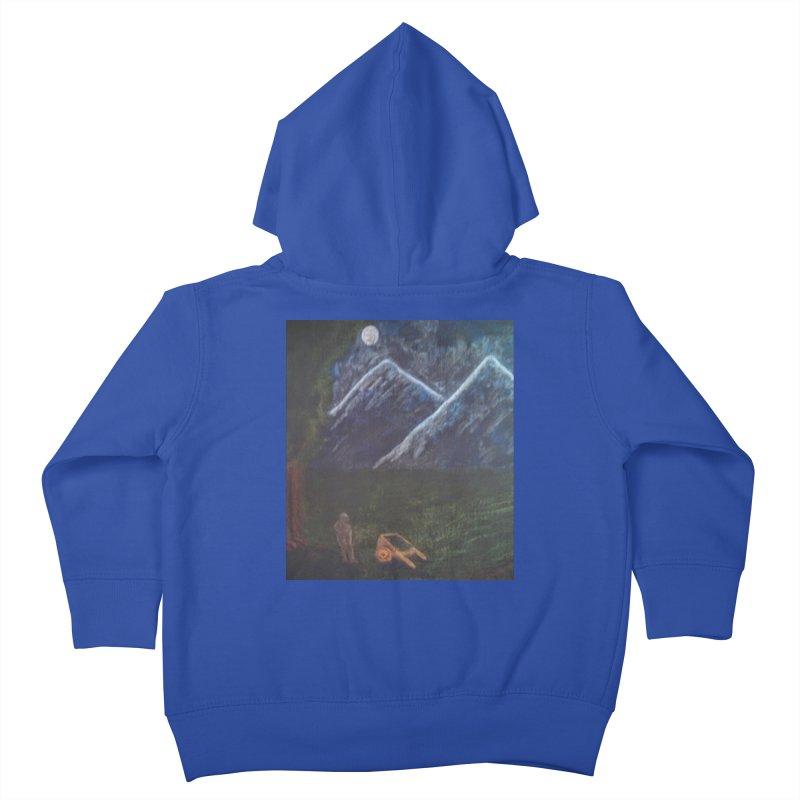 M is for Mountain Kids Toddler Zip-Up Hoody by brusling's Artist Shop
