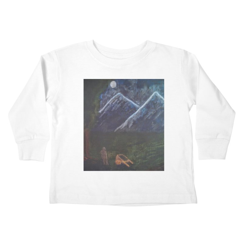 M is for Mountain Kids Toddler Longsleeve T-Shirt by brusling's Artist Shop