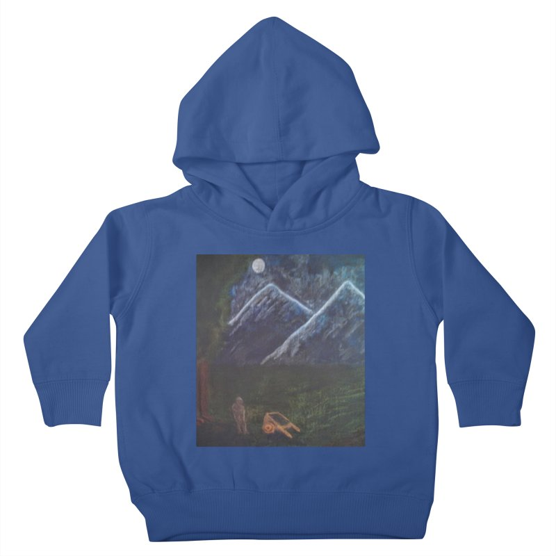 M is for Mountain Kids Toddler Pullover Hoody by brusling's Artist Shop