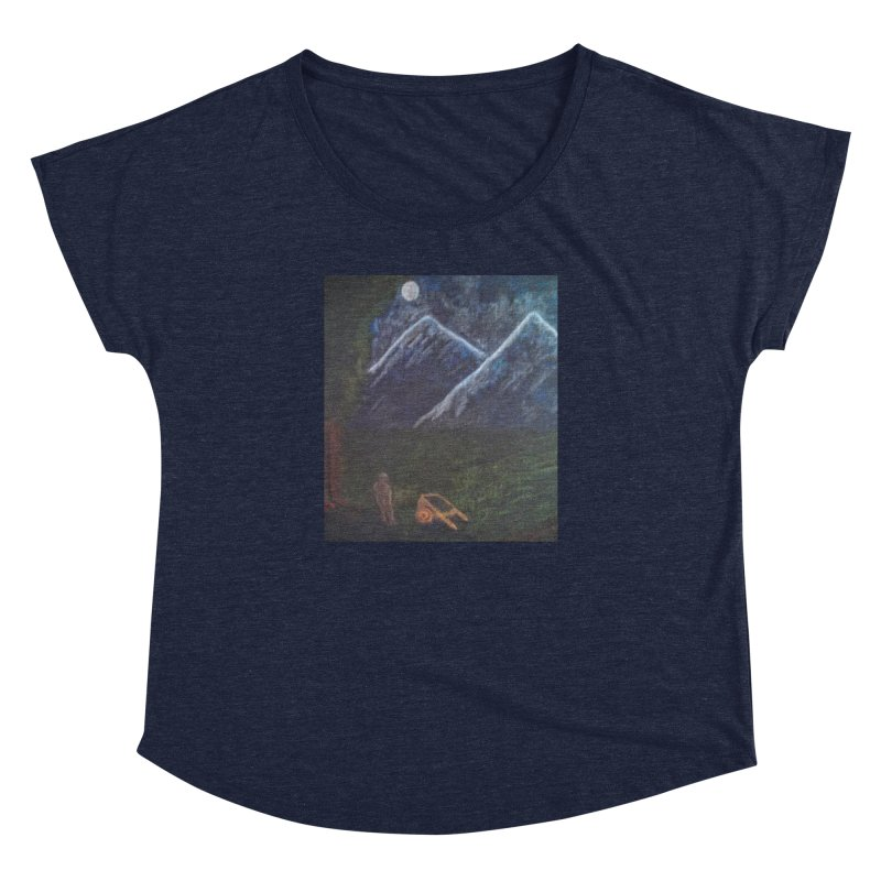 M is for Mountain Women's Dolman by brusling's Artist Shop