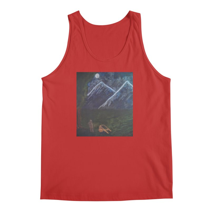M is for Mountain Men's Tank by brusling's Artist Shop