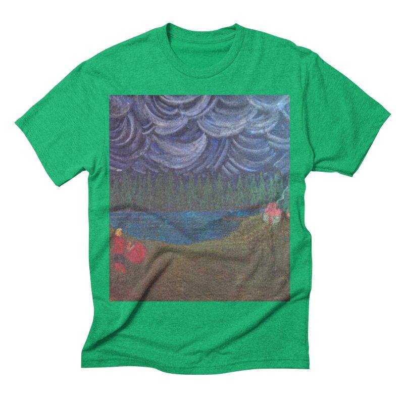 D is for Drummer Men's Triblend T-shirt by brusling's Artist Shop