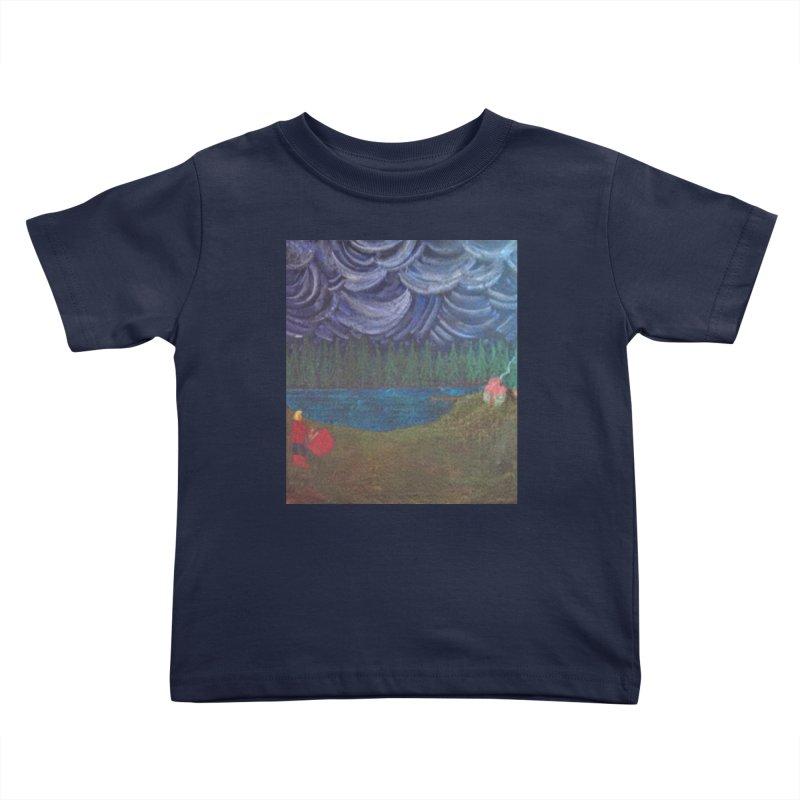 D is for Drummer Kids Toddler T-Shirt by brusling's Artist Shop