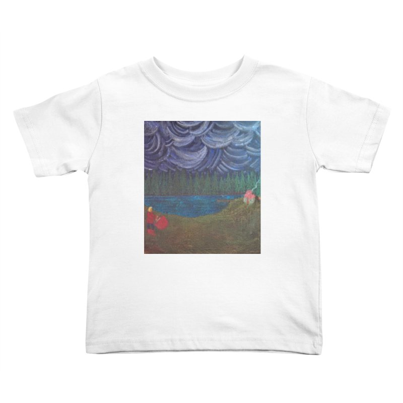D is for Drummer Kids Toddler T-Shirt by brusling's Artist Shop