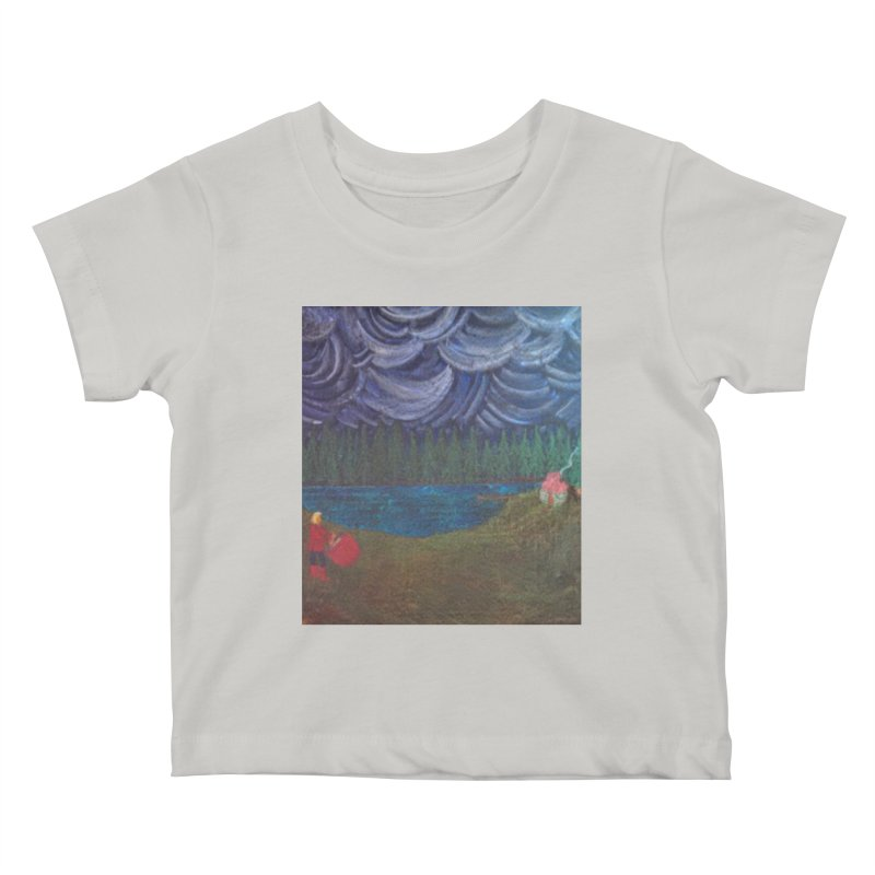 D is for Drummer Kids Baby T-Shirt by brusling's Artist Shop