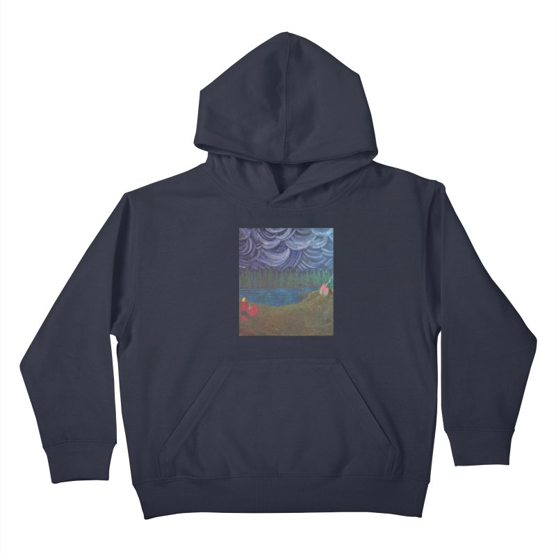 D is for Drummer Kids Pullover Hoody by brusling's Artist Shop