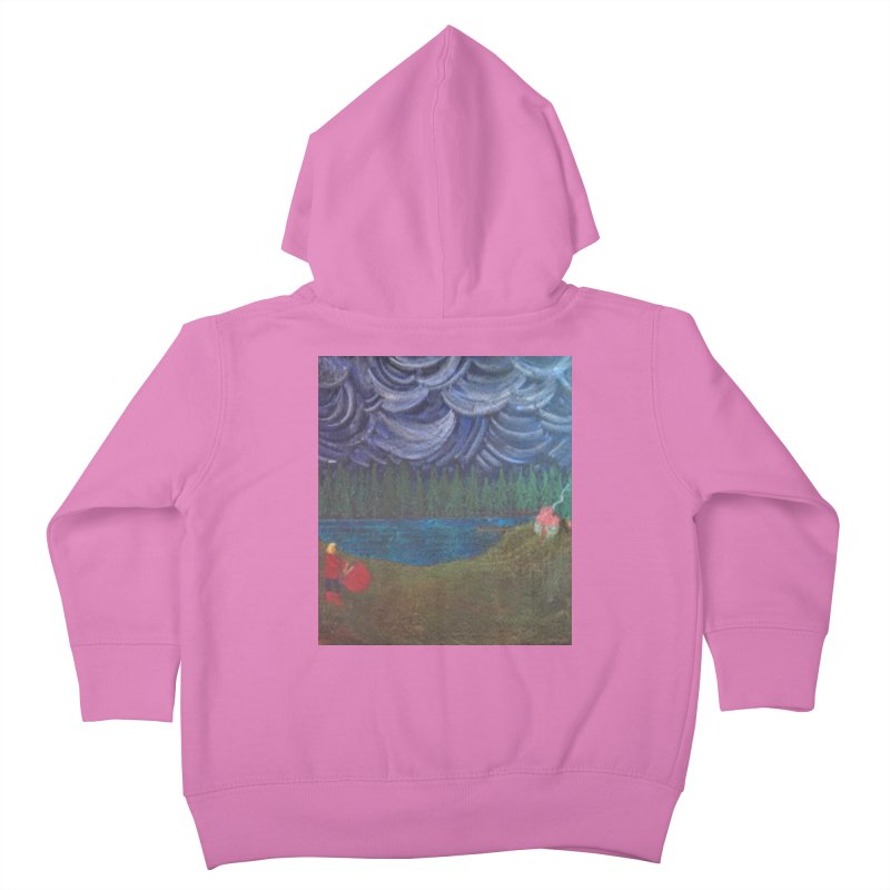 D is for Drummer Kids Toddler Zip-Up Hoody by brusling's Artist Shop
