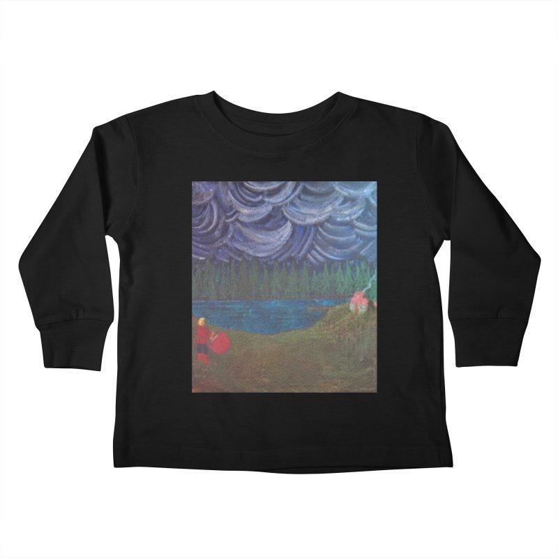 D is for Drummer Kids Toddler Longsleeve T-Shirt by brusling's Artist Shop