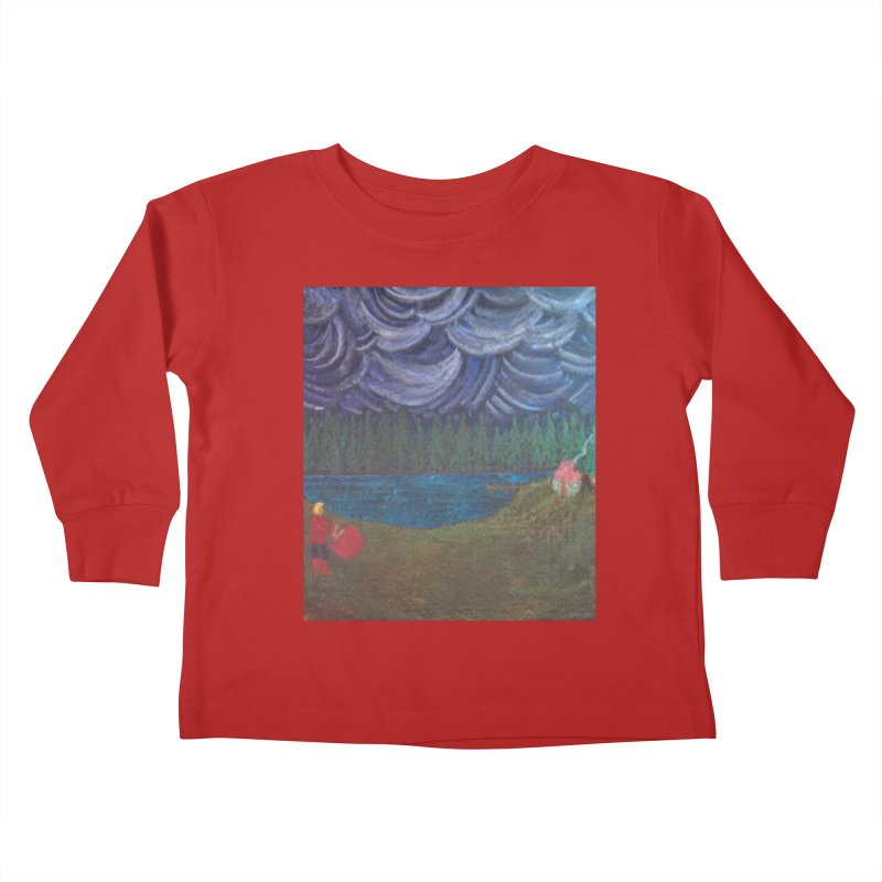 D is for Drummer Kids Toddler Longsleeve T-Shirt by brusling's Artist Shop
