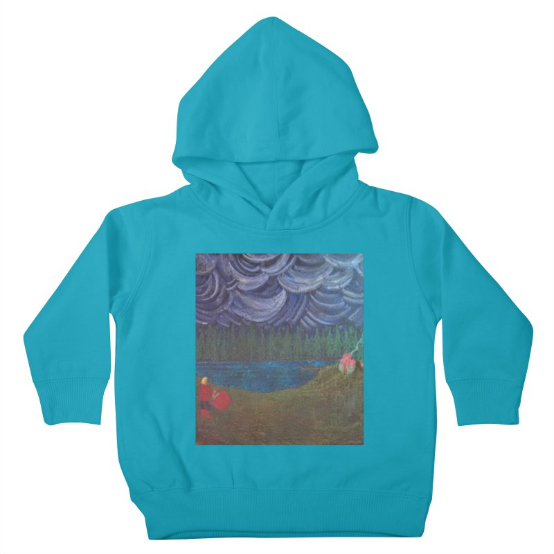 D is for Drummer Kids Toddler Pullover Hoody by brusling's Artist Shop