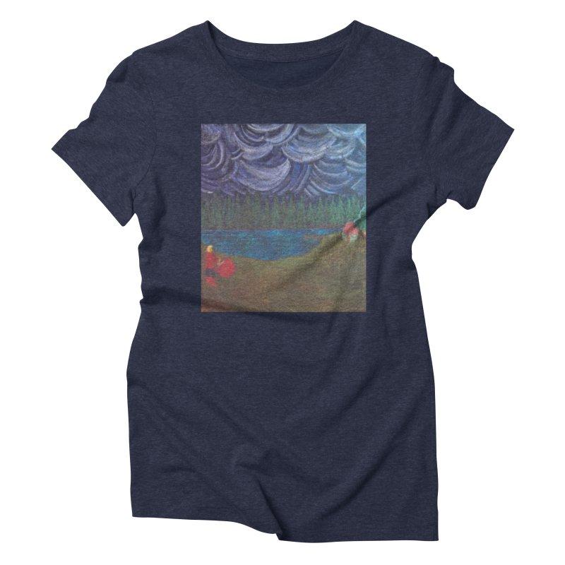 D is for Drummer Women's Triblend T-Shirt by brusling's Artist Shop