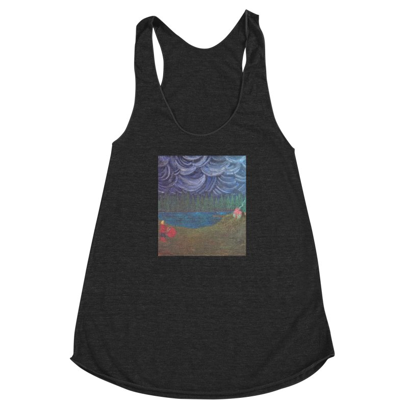 D is for Drummer Women's Racerback Triblend Tank by brusling's Artist Shop
