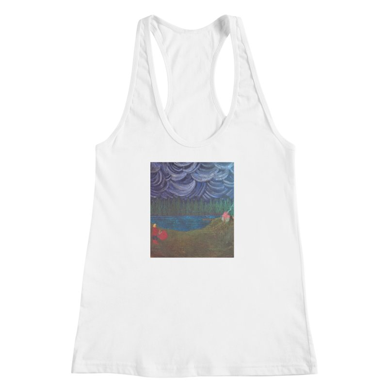 D is for Drummer Women's Racerback Tank by brusling's Artist Shop