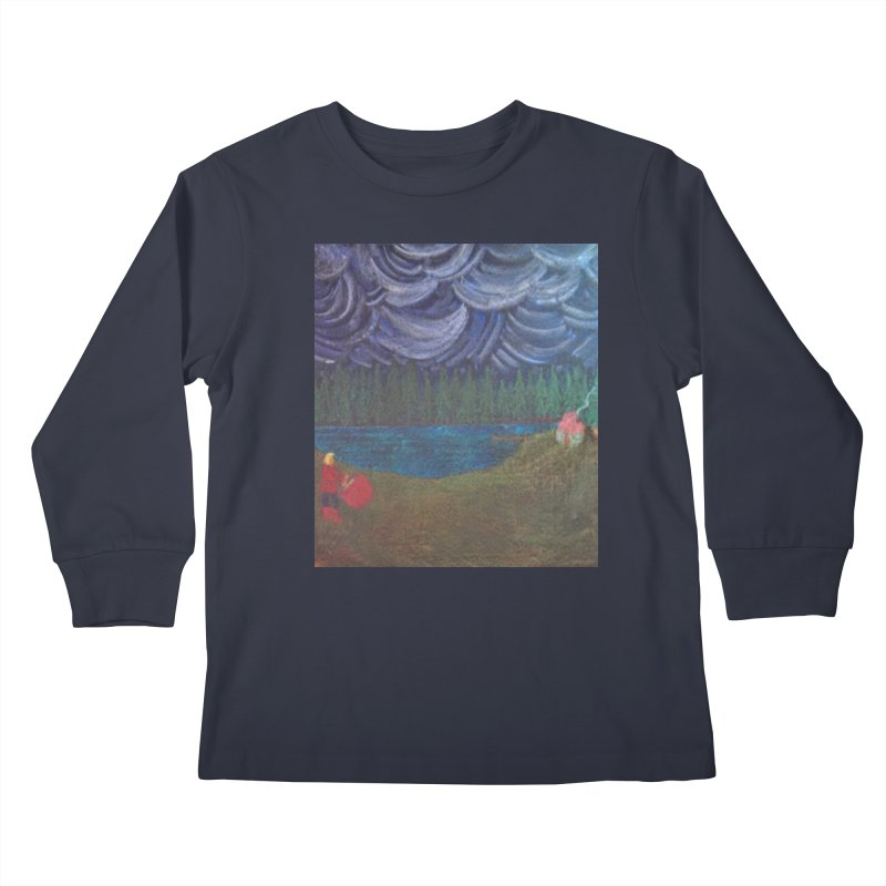D is for Drummer Kids Longsleeve T-Shirt by brusling's Artist Shop