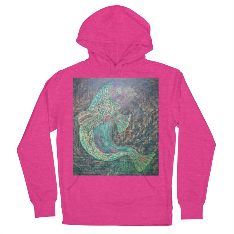 F is for Fish Women's Pullover Hoody by brusling's Artist Shop