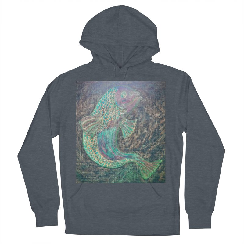 F is for Fish Men's Pullover Hoody by brusling's Artist Shop
