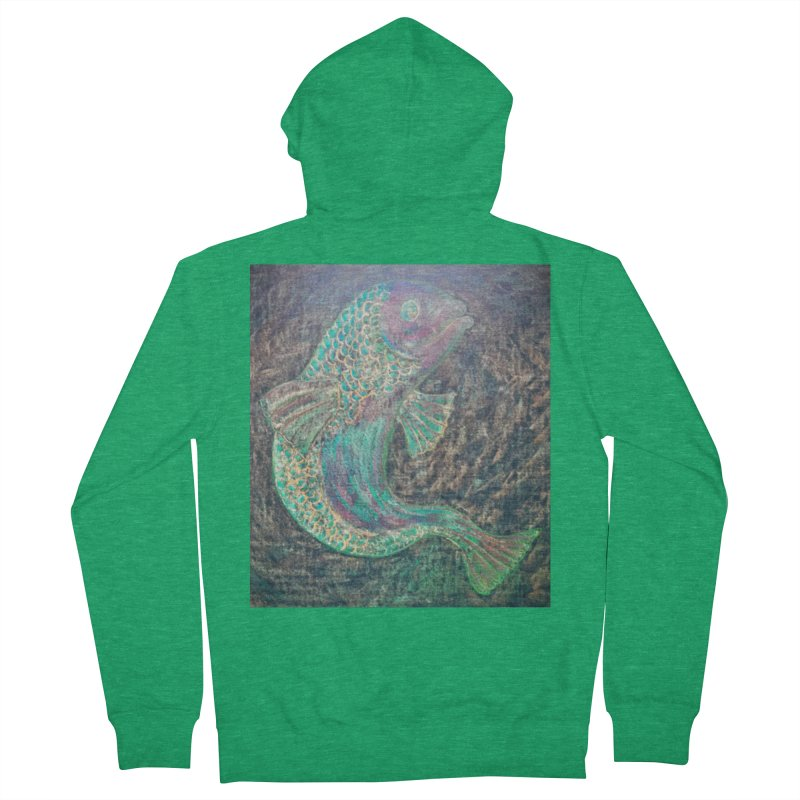 F is for Fish Women's Zip-Up Hoody by brusling's Artist Shop