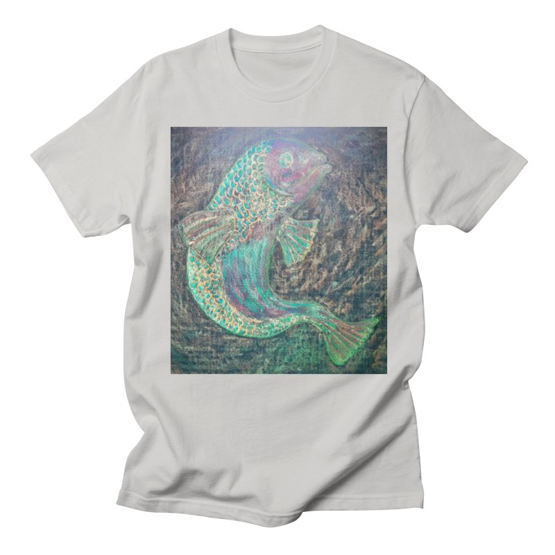 F is for Fish Men's T-Shirt by brusling's Artist Shop