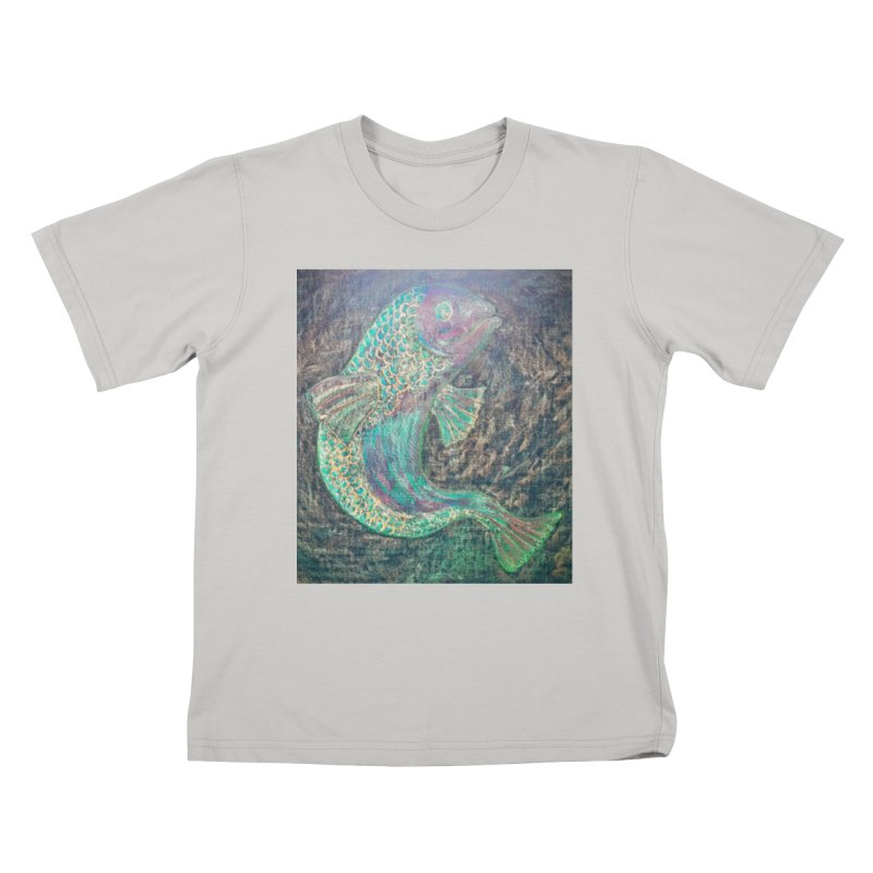 F is for Fish Kids T-shirt by brusling's Artist Shop