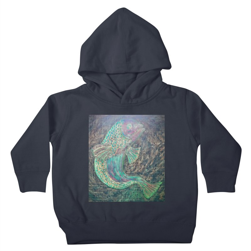 F is for Fish Kids Toddler Pullover Hoody by brusling's Artist Shop