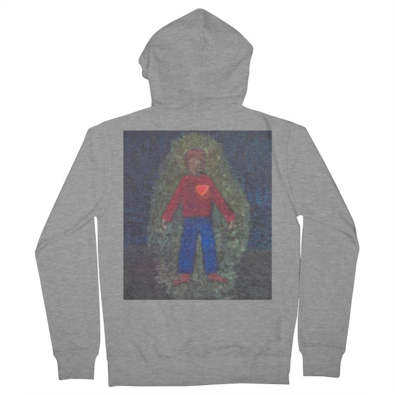 Three for Me Men's Zip-Up Hoody by brusling's Artist Shop