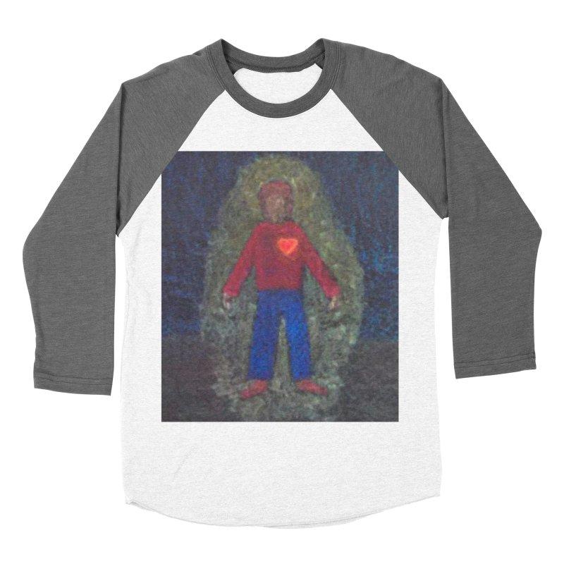 Three for Me Women's Baseball Triblend T-Shirt by brusling's Artist Shop