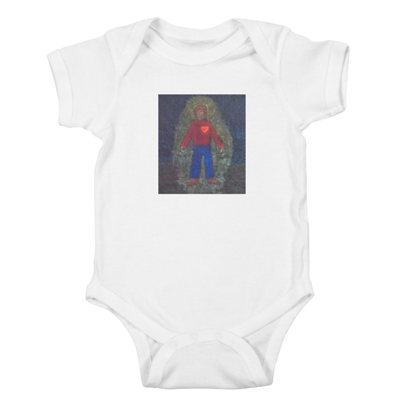 Three for Me Kids Baby Bodysuit by brusling's Artist Shop