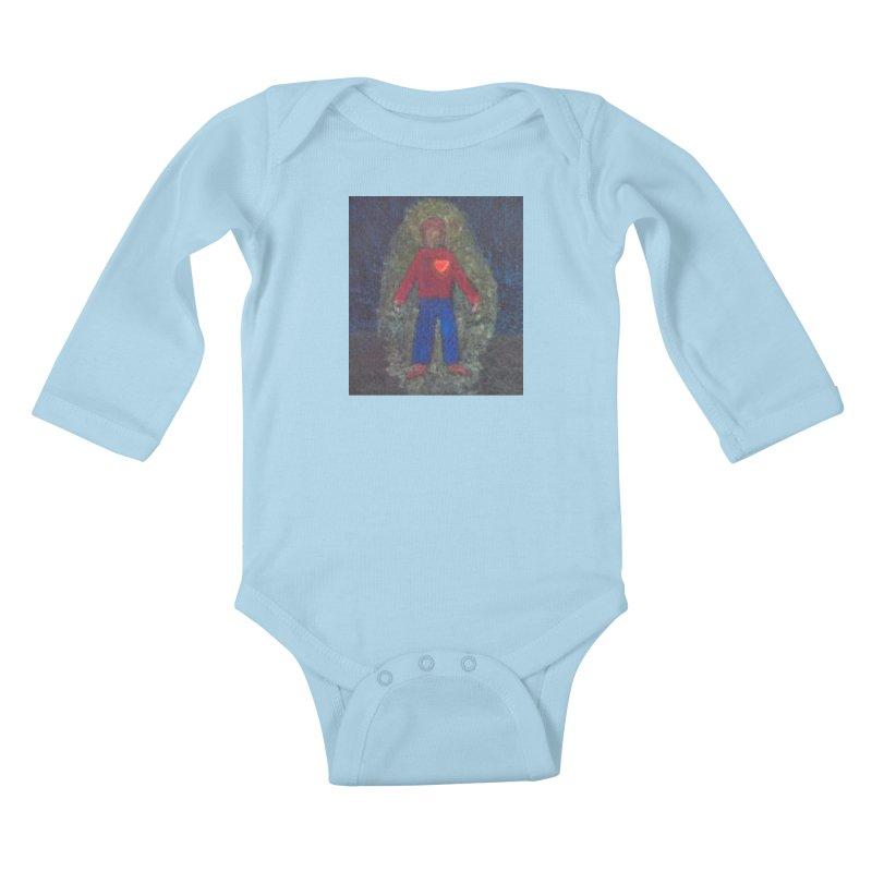 Three for Me Kids Baby Longsleeve Bodysuit by brusling's Artist Shop