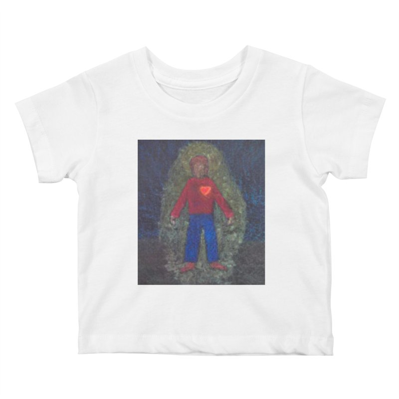 Three for Me Kids Baby T-Shirt by brusling's Artist Shop