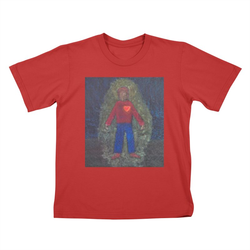Three for Me Kids T-Shirt by brusling's Artist Shop