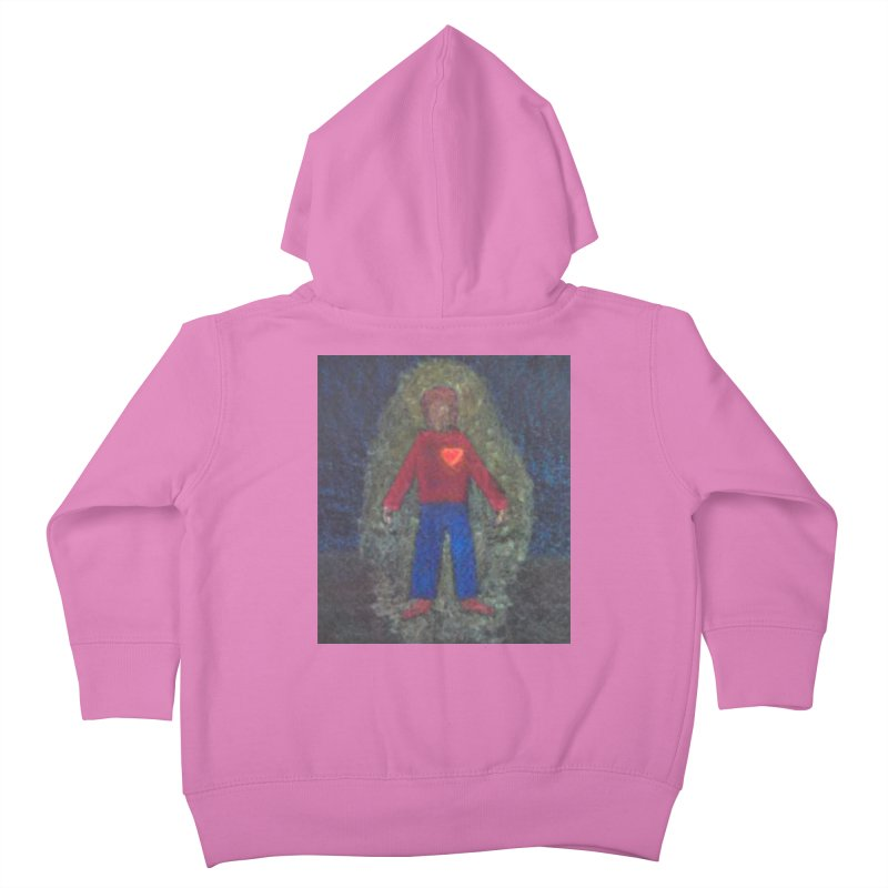 Three for Me Kids Toddler Zip-Up Hoody by brusling's Artist Shop