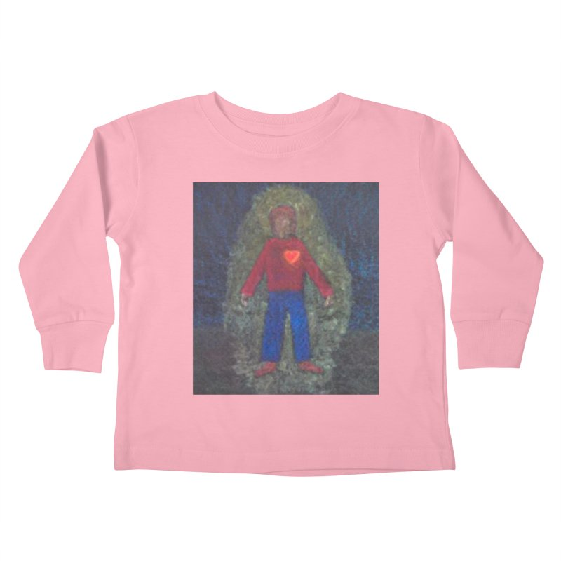 Three for Me Kids Toddler Longsleeve T-Shirt by brusling's Artist Shop