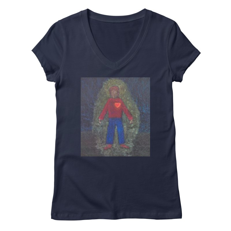 Three for Me Women's V-Neck by brusling's Artist Shop