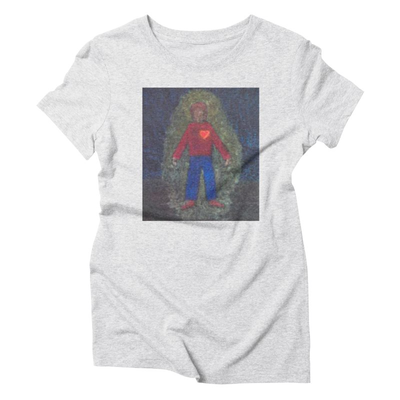 Three for Me Women's Triblend T-Shirt by brusling's Artist Shop