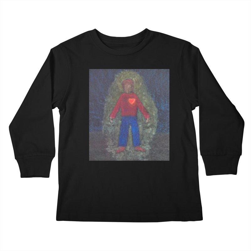 Three for Me Kids Longsleeve T-Shirt by brusling's Artist Shop