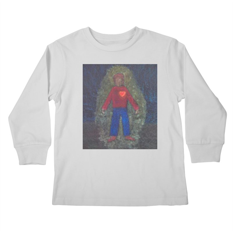Three for Me Kids Longsleeve T-Shirt by brusling's Artist Shop
