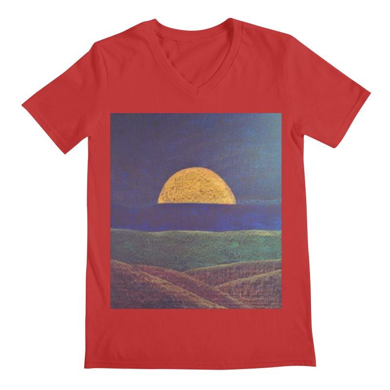 One for the Golden Sun Men's V-Neck by brusling's Artist Shop