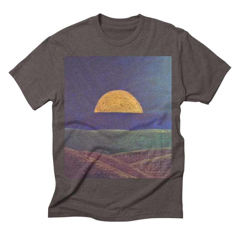 One for the Golden Sun Men's Triblend T-shirt by brusling's Artist Shop