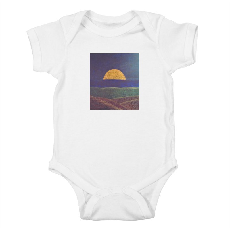One for the Golden Sun Kids Baby Bodysuit by brusling's Artist Shop