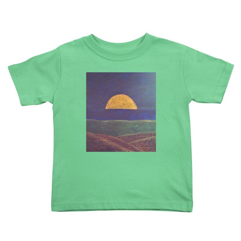 One for the Golden Sun Kids Toddler T-Shirt by brusling's Artist Shop